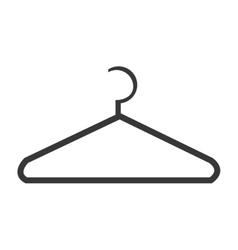 black clothespin design graphic vector image vector image