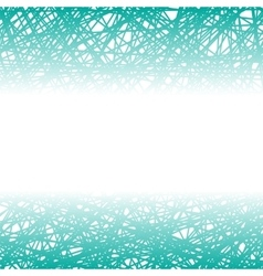 Abstract azure line background vector