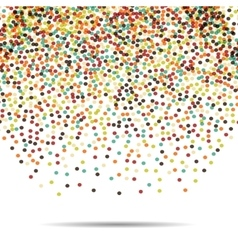 Dots pattern Casual polka dot texture Stylish vector image vector image