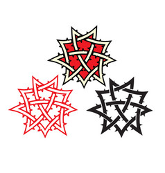 Ornament tattoo vector