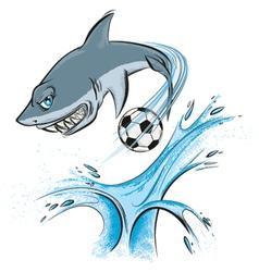 Shark sport mascot vector