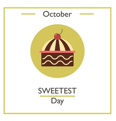 Sweetest Day vector image