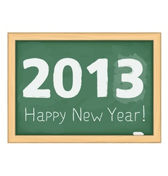 Happy new year 2013 vector