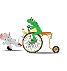 Cartoon frog design vector