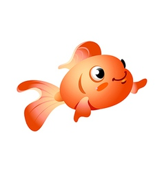 Icon goldfish vector