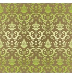 vintage decorative wallpaper vector image