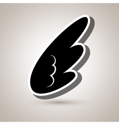 Wings icon design vector
