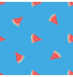 Seamless natural color pattern of red ripe vector