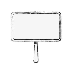 billboard signpost isolated vector image