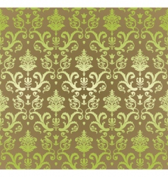vintage decorative wallpaper vector image