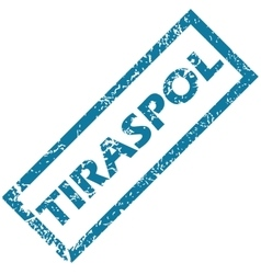 Tiraspol rubber stamp vector