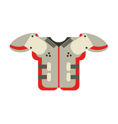 American football icon image vector