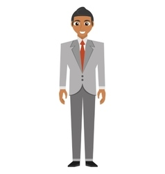 businessman avatar elegant islated icon vector image vector image