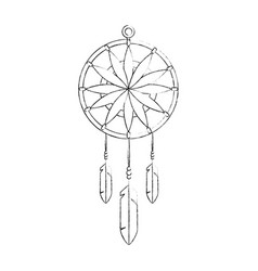 dream catcher symbol vector image