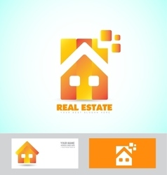 Home real estate logo icon vector