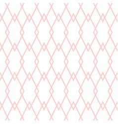 tile pattern with pink and white background vector image