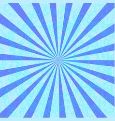 Grunge blue starburst effect background vector