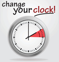 Change your clock vector