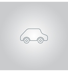 Toy car logo template icon vector