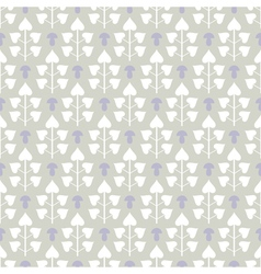 Abstract seamless pattern with leaves and vector