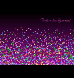 confetti explosion backdrop vector image