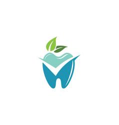 Dental logo template vector