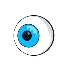 Eyes icon cartoon style vector