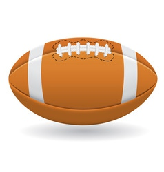 ball for american football vector image