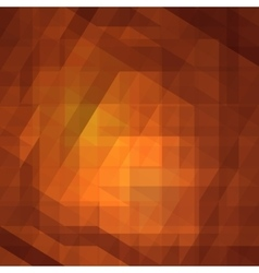 brown low poly polygonal triangular vector image
