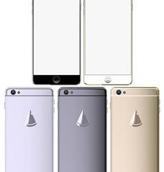 smart phone set vector image