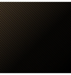 Black background in gold stripes vector