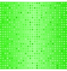 Dots on green background halftone texture vector