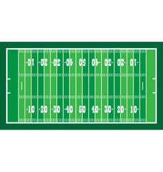 field for american football vector image vector image
