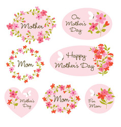Mothers day clipart vector