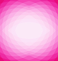Pink abstract geometric triangle mosaic background vector