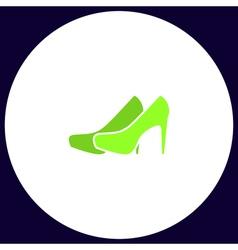 Shoes computer symbol vector