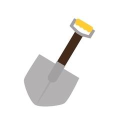 Shovel tool repair icon vector