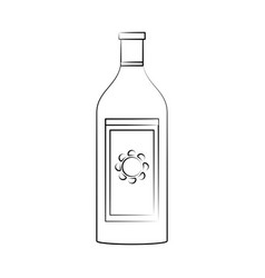 Tequila ilustration vector