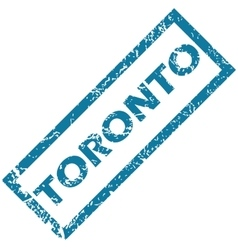 Toronto rubber stamp vector