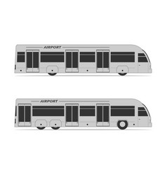 airport bus vector image