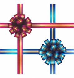 Two bows vector