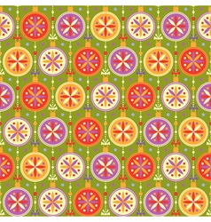 Seamless pattern with multicolored balls vector