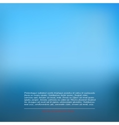 Background abstract gradient Blue cold vector image