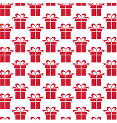 background with gifts vector image vector image