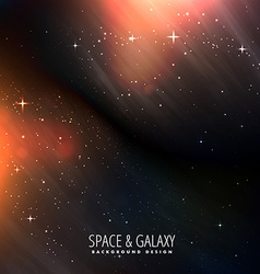 Bright universe background vector