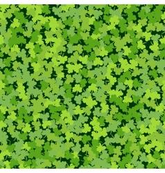 Cloverleaf green seamless vector