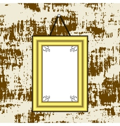 Blank picture vector image