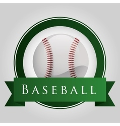 Baseball sport design vector
