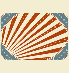 Fourth of july holidays poster background vector