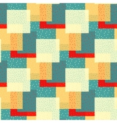Seamless pattern from the colorful vector image vector image